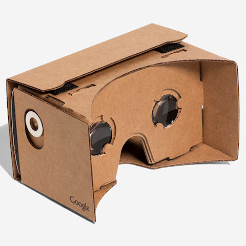 Google VR szemüveg kartonból – Cardboard