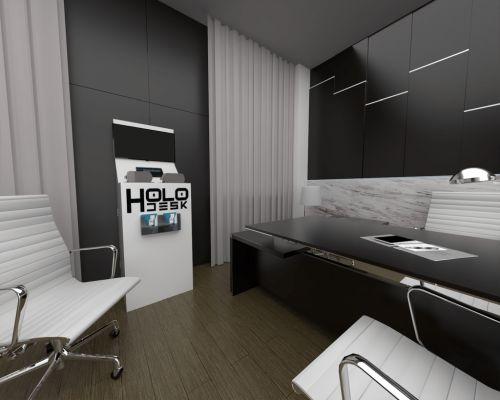 Holoszoba - HoloDesk VR bemutató pult