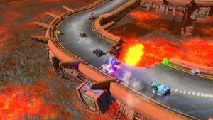 Holoszoba Blaze Rush VR játék kép