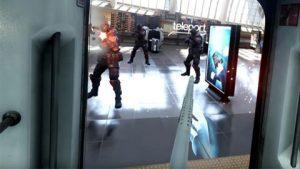 Holoszoba - Bullet Train lövöldözős játék kép