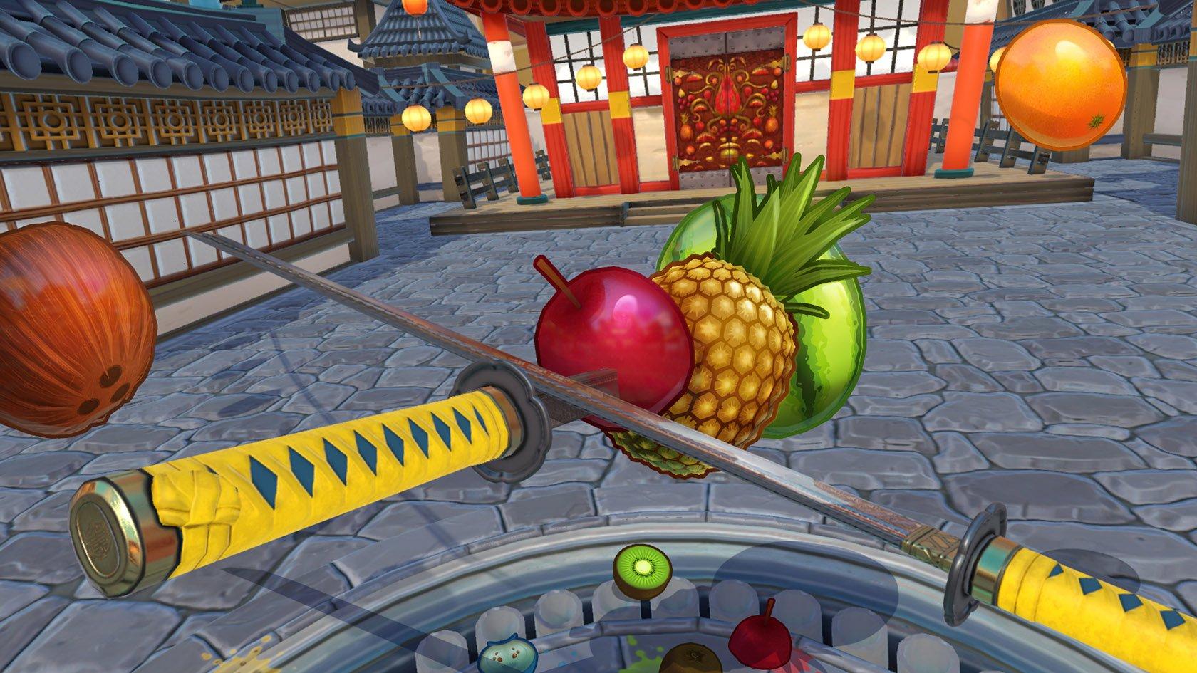 Holoszoba - Fruti Ninja VR