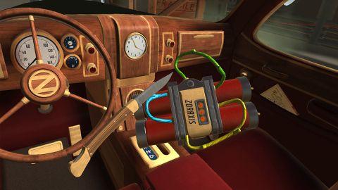 Holoszoba - I expect You to die VR játék