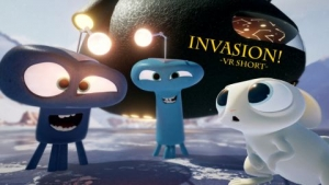 Holoszoba Invasion VR rövidfilm