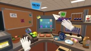 Holoszoba - Job Simulator VR