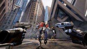Holoszoba Robo Recall VR játék