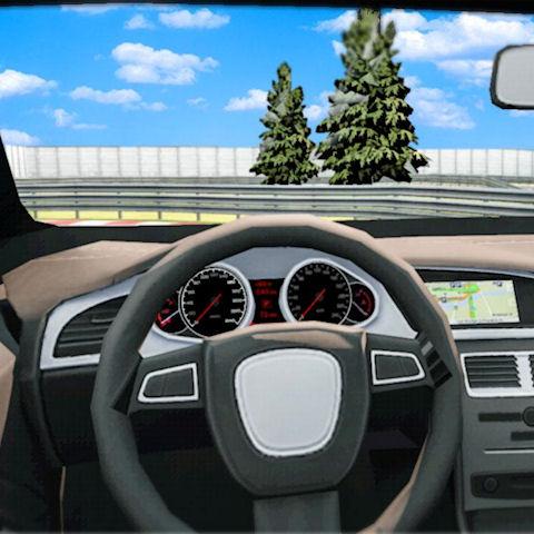 VR autóvezetés szimulátor
