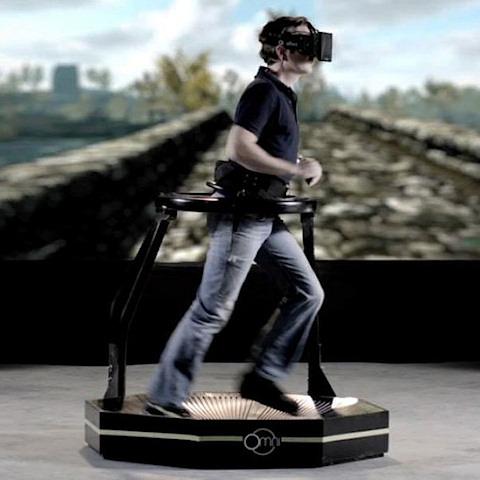 VR Treadmill megoldások, sétálj vagy fuss egy futópadon miközben VR játékot játszol